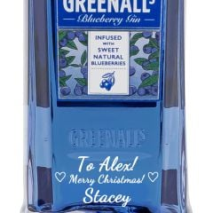 Personalised Greenalls Blueberry Gin
