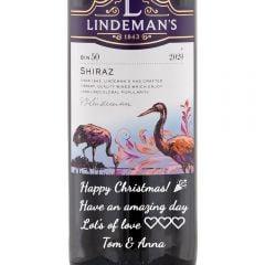 Personalised Lindeman's Bin 50 Shiraz
