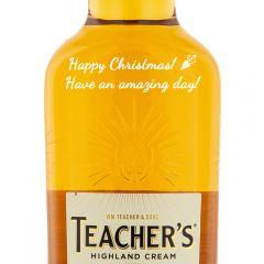 Personalised Teachers Whisky