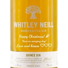 Personalised Whitley Neill Quince Gin
