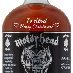 Personalised Motorhead Whisky