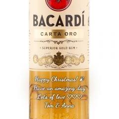 Personalised Bacardi Carta Oro