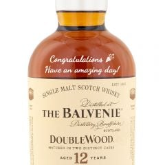 Personalised Balvenie 12 Year Old Double Wood