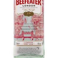 Personalised Beefeater Gin