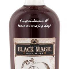 Personalised Black Magic Spiced Rum
