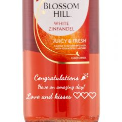 Personalised Blossom Hill White Zinfandel Rose