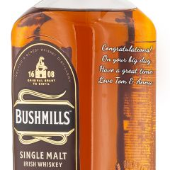 Personalised Bushmills 16 Year Old