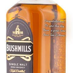 Personalised Bushmills 21 Year Old