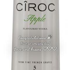 Personalised Ciroc Apple