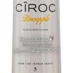 Personalised Ciroc Pineapple Vodka