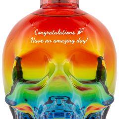 Personalised Crystal Head Pride Vodka