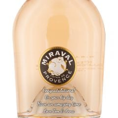 Personalised Miraval Cotes de Provence Rose
