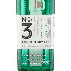 Personalised No3 London Dry Gin