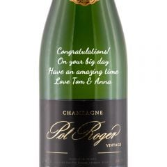 Personalised Pol Roger Brut Vintage