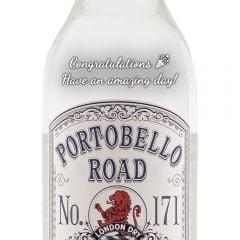 Personalised Portobello Road No. 171 London Gin