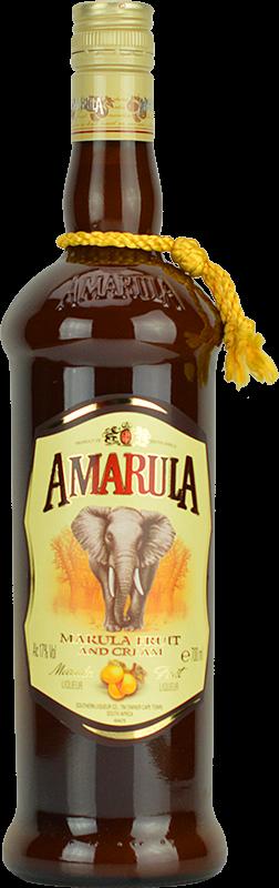 Personalised Amarula Cream Liqueur 70cl engraved bottle