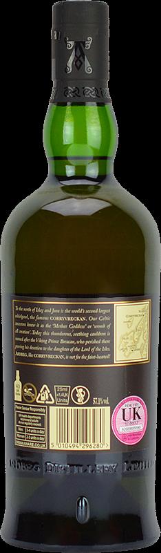 Personalised Ardbeg Corryvreckan Whisky 70cl engraved bottle