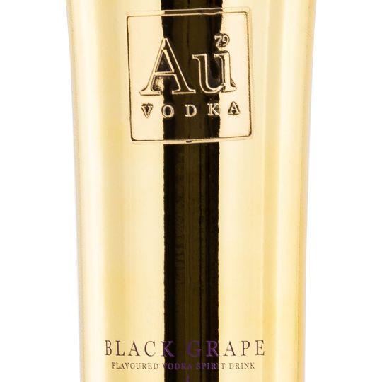 Personalised Au Black Grape Vodka 70cl Engraved Flavoured Vodka engraved bottle