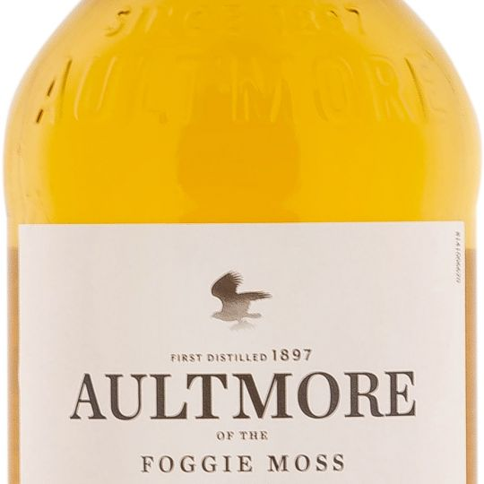 Personalised Aultmore 12 Year Old 70cl Engraved Single Malt Whisky engraved bottle