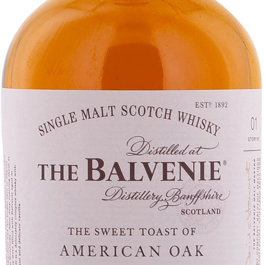 Personalised Balvenie American Oak 12 Year Old 70cl Engraved Whisky engraved bottle