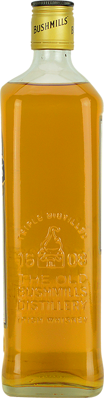Personalised Bushmills Original Whisky 100cl engraved bottle