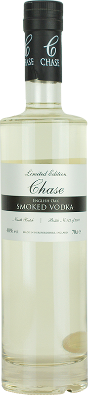 Personalised Chase Smoked Vodka 70cl engraved bottle