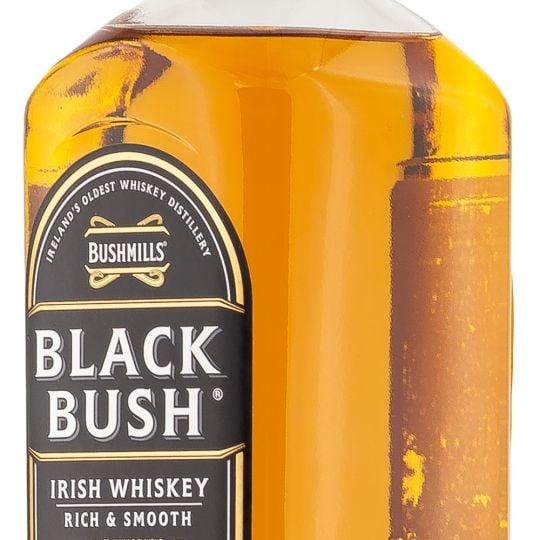 Personalised Bushmills Black Bush 70cl Engraved Whisky engraved bottle