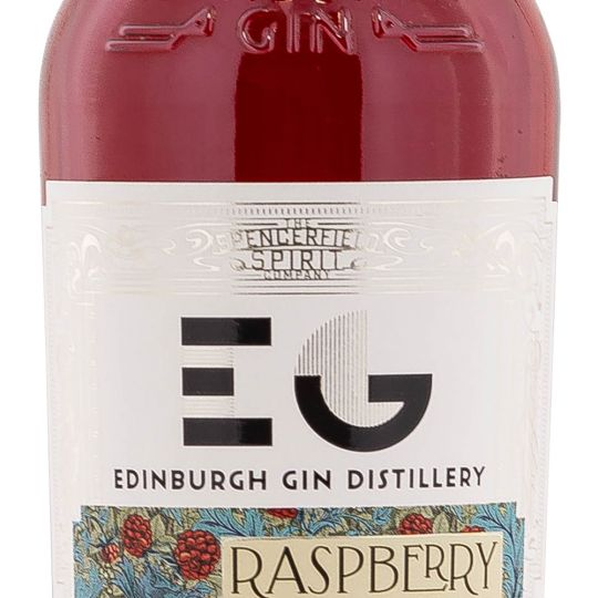 Personalised Edinburgh Raspberry Gin Liqueur 50cl Engraved Flavoured Gin engraved bottle