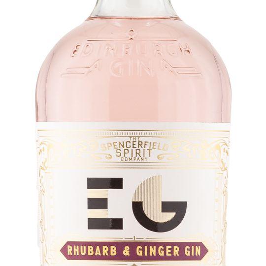 Personalised Edinburgh Rhubarb & Ginger Gin 70cl Engraved Flavoured Gin engraved bottle