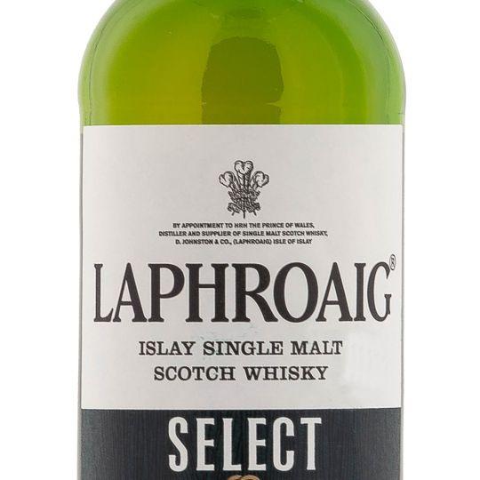 Personalised Laphroaig Select Whisky 70cl engraved bottle