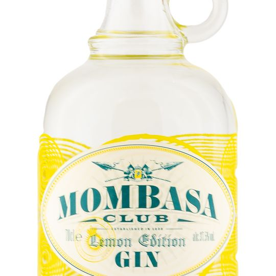 Personalised Mombasa Club Lemon Edition Gin 70cl Engraved Flavoured Gin engraved bottle