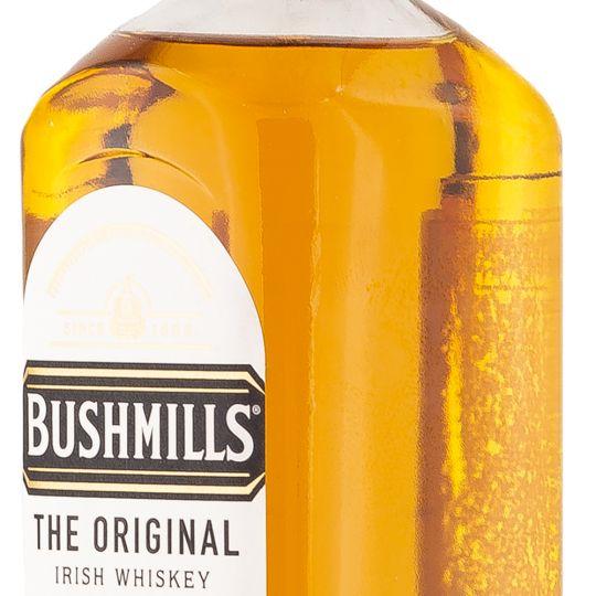 Personalised Bushmills Original Whisky 70cl engraved bottle