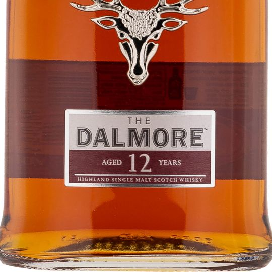Personalised Dalmore 12 Year Old 70cl Engraved Single Malt Whisky engraved bottle
