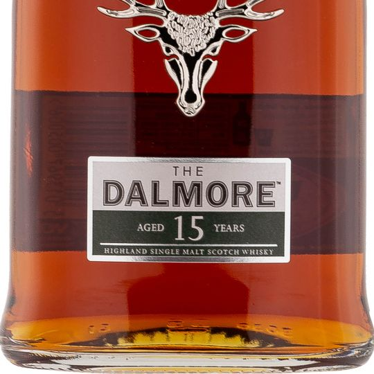 Personalised Dalmore 15 Year Old 70cl Engraved Single Malt Whisky engraved bottle