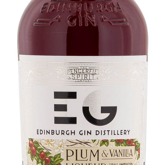 Personalised Edinburgh Plum and Vanilla 50cl Engraved Flavoured Gin engraved bottle