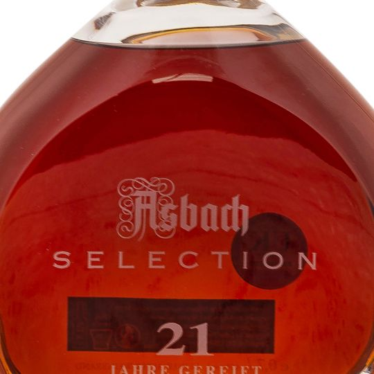 Personalised Asbach Selection Brandy 21 Year Old 70cl Engraved Brandy engraved bottle