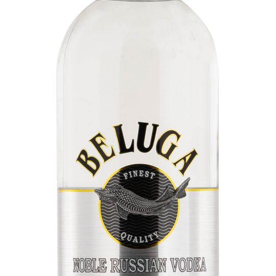 Personalised Beluga Noble Russian Vodka 70cl Engraved Vodka engraved bottle