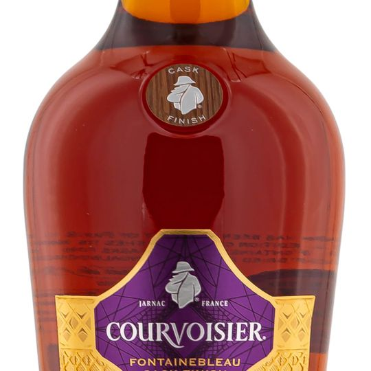 Personalised Courvoisier Fontainebleau Cask Finish Special Edition 70cl Engraved Cognac engraved bottle