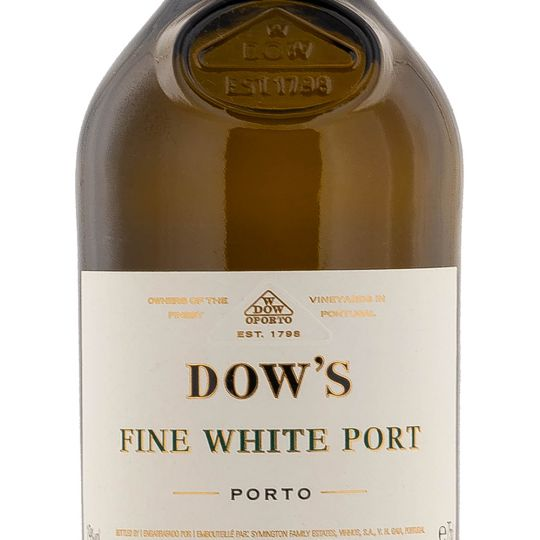 Personalised Dows Fine White Port 75cl Engraved Port engraved bottle