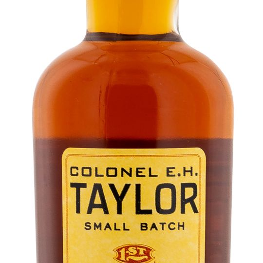 Personalised EH Taylor Small Batch 75cl Engraved Bourbon engraved bottle