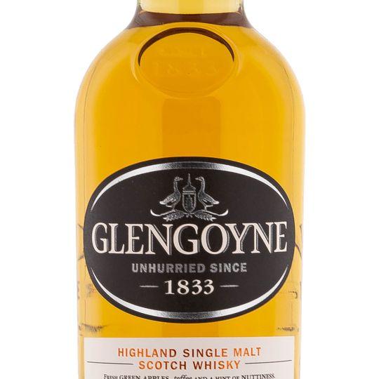 Personalised Glengoyne 10 Year Old 70cl Engraved Single Malt Whisky engraved bottle