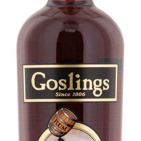 Personalised Goslings Black Seal Rum 70cl Engraved Dark Rum engraved bottle