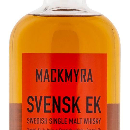 Personalised Mackmyra Svensk Ek 70cl Engraved Single Malt Whisky engraved bottle