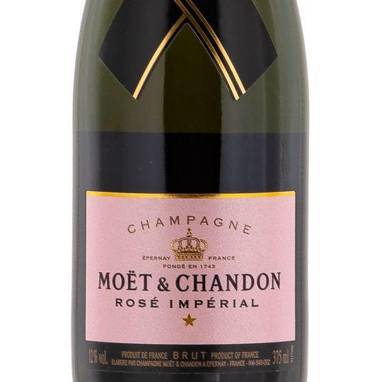 Personalised Moet & Chandon Rose Imperial NV Half Bottle 37.5cl Champagne engraved bottle