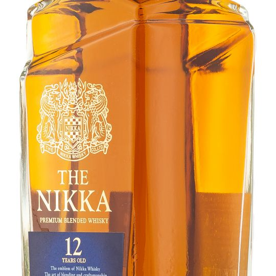 Personalised Nikka 12 Year Old 70cl Engraved Whisky engraved bottle