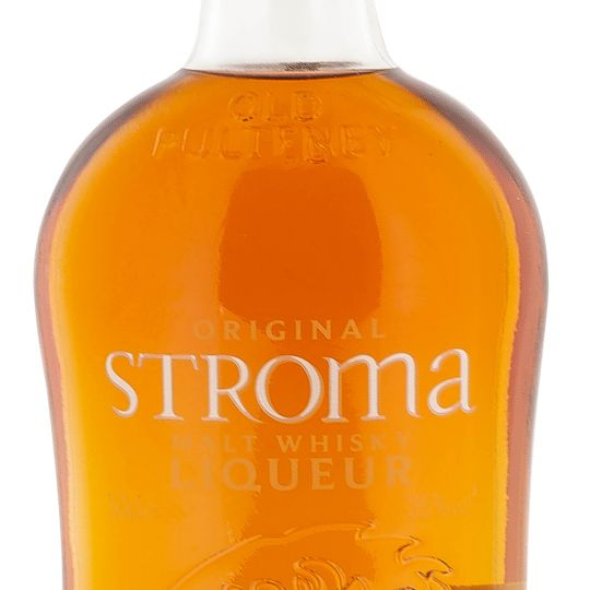 Personalised Old Pulteney Stroma Malt Whisky Liqueur 50cl Engraved Whisky Liqueurs engraved bottle