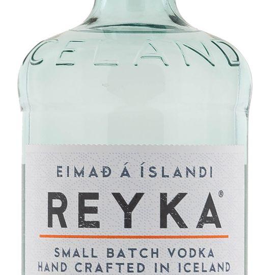 Personalised Reyka Vodka 70cl Engraved Vodka engraved bottle