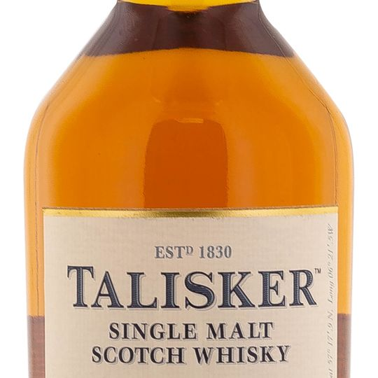 Personalised Talisker 18 Year Old 70cl Engraved Single Malt Whisky engraved bottle