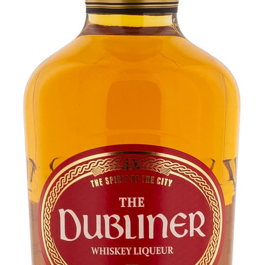 Personalised The Dubliner Irish Whiskey Liqueur 70cl Engraved Whisky Liqueurs engraved bottle