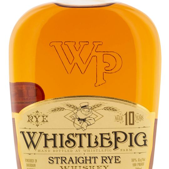Personalised WhistlePig 10 Year Old Straight Rye 70cl Engraved Rye Whiskey engraved bottle